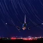 Airport star falls