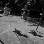 夏の日、公園で